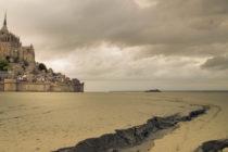 Mont Saint Michel.  Foto.